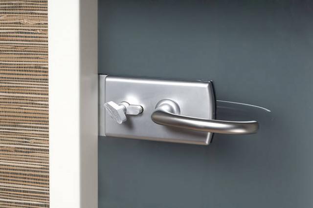Dveře skleněné GRAY s šedým kouřovým sklem - 2