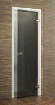 Dveře skleněné GRAY s rámem a kováním