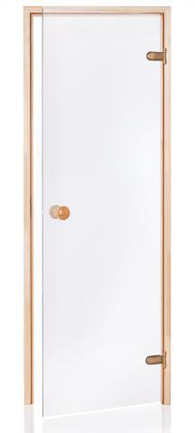 Saunové dveře BASIC 7x19 CLEAR (čiré sklo)