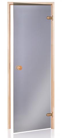 Saunové dveře BASIC 9x19 GRAY (kouřové sklo)