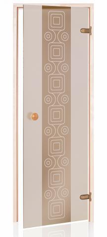 Dveře do parní sauny  TLD10
