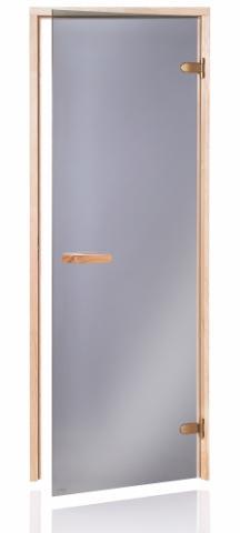 Saunové dveře RAISER 68 7x19 GRAY (kouřové sklo)