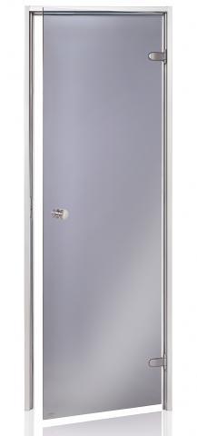 Dveře do páry BASIC 9x19 GRAY (kouřové sklo)