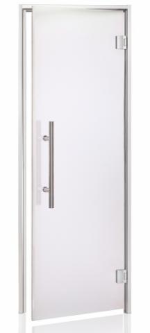 Dveře do sauny LUX s pískovaným sklem 7x19 (690 x 1890 mm)