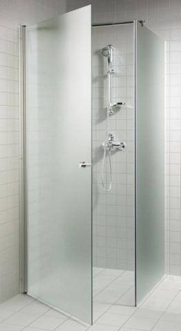 Skleněný sprchový kout s pískovaným sklem 7x7x20 (700 x 700 x 2000 mm)