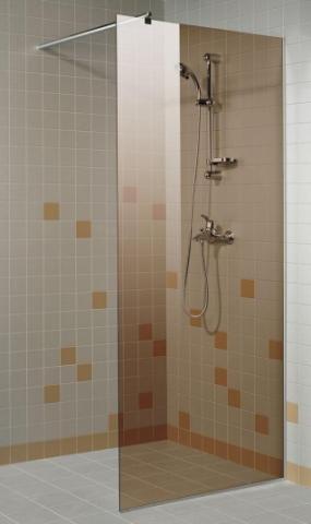 Sprchová zástěna 8x20 BRONZE (kouřové sklo)