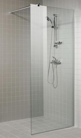 Sprchová zástěna 8x20 CLEAR (čiré sklo)