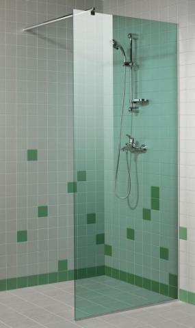 Sprchová zástěna 8x20 GREEN (kouřové sklo)
