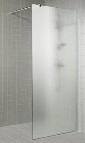 Sprchová zástěna s pískovaným sklem 8x20 CLEAR (čiré sklo)