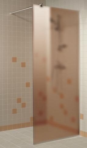 Sprchová zástěna s pískovaným sklem 9x20 (900 x 2000 mm)