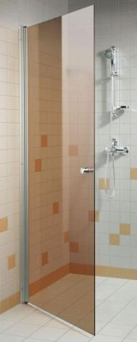 Dveře do sprchy 7x20 BRONZE (kouřové sklo)