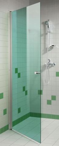 Dveře do sprchy 7x20 GREEN (kouřové sklo)