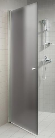 Dveře do sprchy  s pískovaným sklem 7x20 GRAY (kouřové sklo)