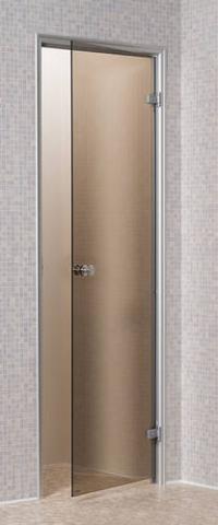 Saunové parní dveře CHINCHILLA BRONZE